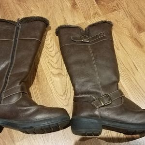 Brown Totes Winter Boots